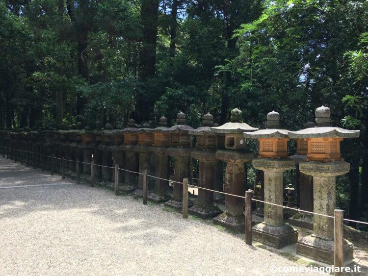 kasuga-tempio-lanterne